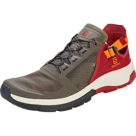 Salomon Techamphibian 4 Scarpe Uomo, beluga/russet orange/red dahlia